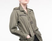 Brand New Women's Authentic euro VINTAGE french MILITARY JACKET (Approx. size 8-10 & size 14-16)