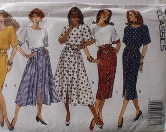 Women's Sewing Pattern - Misses/Misses Petite Dress Pattern - Butterick 6785 - Sizes 6-8-10, Bust 30 1/2 - 32 1/2, Uncut