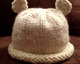 Adult Polar Bear Beanie