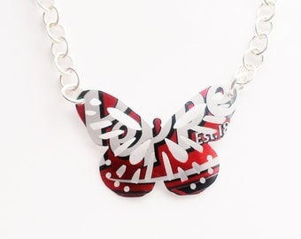 Dr Pepper Recycled Necklace Aluminum Can Jewelry Teen Girl Jewelry Tween Girl Jewelry Tween Teen Girl Gifts Women Flash Sale Jewelry