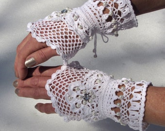 Victorian Lace Cuffs - Born to be Loved