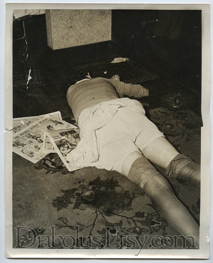 Items similar to Vintage 1930s Murdered Woman with Wichita ...