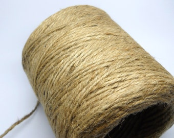 RUSTIC JUTE Twine - 10 yards - All Natural Twine - Jute Twine - Rustic wedding - Outdoor party