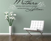 Mothers Day Gift - Mom Gifts - Gift for Mom - Wall Decor - Wall Decals - Wall Art - Wall Stickers - Home Decor - Mom from Daughter - Decals