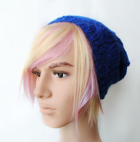 Pegasus Wig Men Guy Emo Blonde Pink Purple Hair Scene