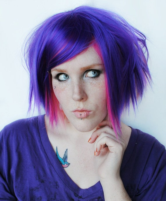 Candyland Purple Passion And Pink Strawberry Hair