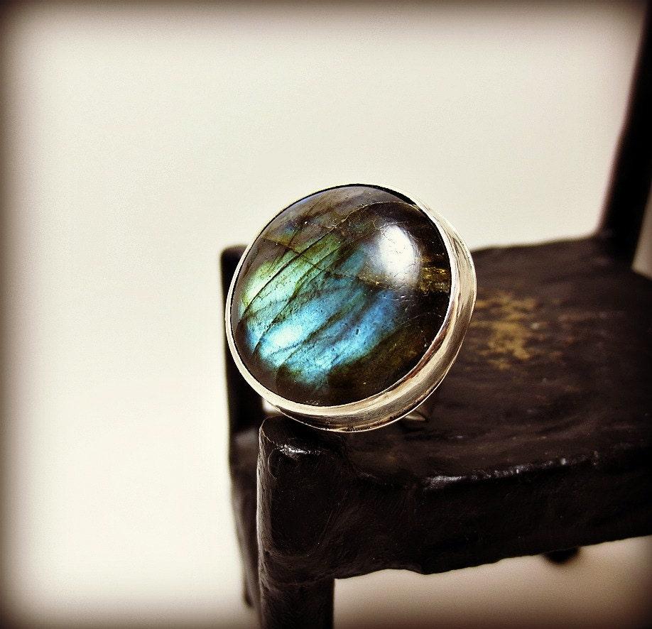 sterling silver labradorite ring labradorite jewelry aritsan