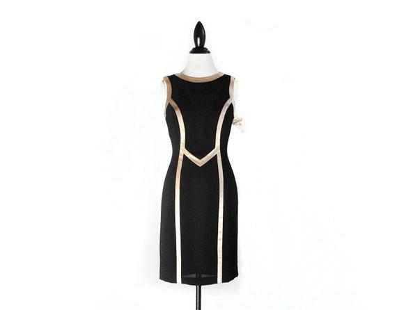Joseph Ribkoff Futuristic Bodycon Minimal  Deadstock Vintage Dress