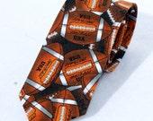 Boy's Neck Tie Football