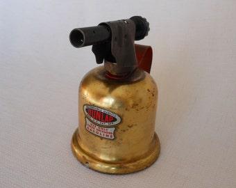 Vintage Small Brass Dunlap Gas Torch