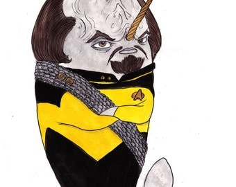 Worf Narwhal
