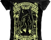 Cryptozoology Tracking Society - Black/Moon (Ladies)
