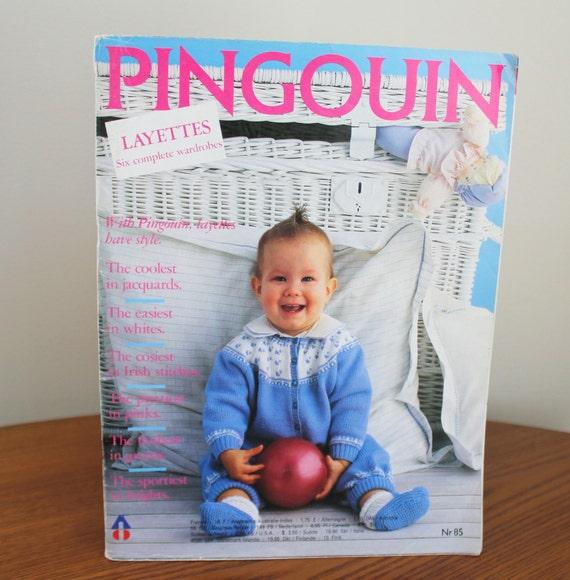 Knitting For Babies Magazine : Pingouin knitting magazine nr layettes for babies