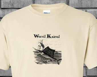 Weevil Knieval Sailfish Stunt Steampunk Tshirt