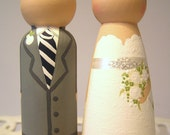 Cake Cuties- Custom Wedding Cake Toppers LARGE SIZE