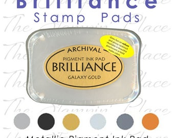 Brilliance  Archival Pigment Ink Stamp Pads
