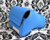 DSLR Camera Case - Sky Blue Neoprene