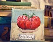 Creole Tomato (mini canvas)