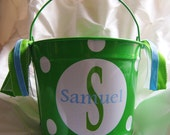 Personalized Easter Bucket 10qt