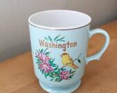 Washington State Pedestal Mug Japan