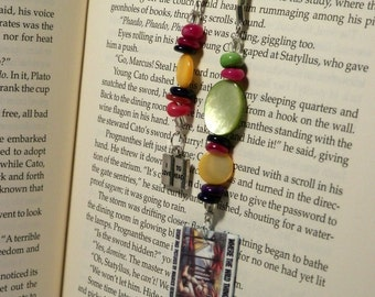 Rainbow of Multicolor Where the Wild Things Are Book Cover BookMark