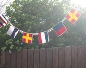 4x4 Custom international maritime signal flag garland