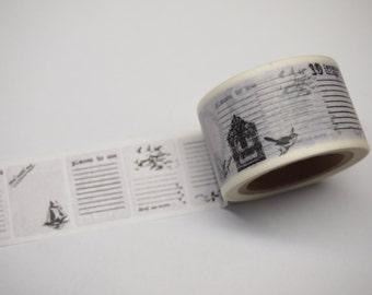 Washi Tape (30mm X 10M)