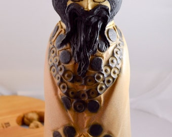 English Pottery Figure, The King, made in England