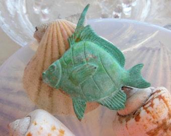 Sunny Sunfish Brooch