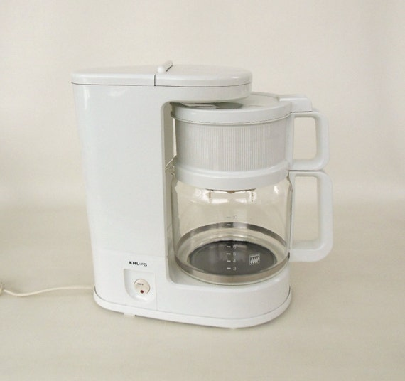 Krups Coffee Maker Model 150 10 Cup White