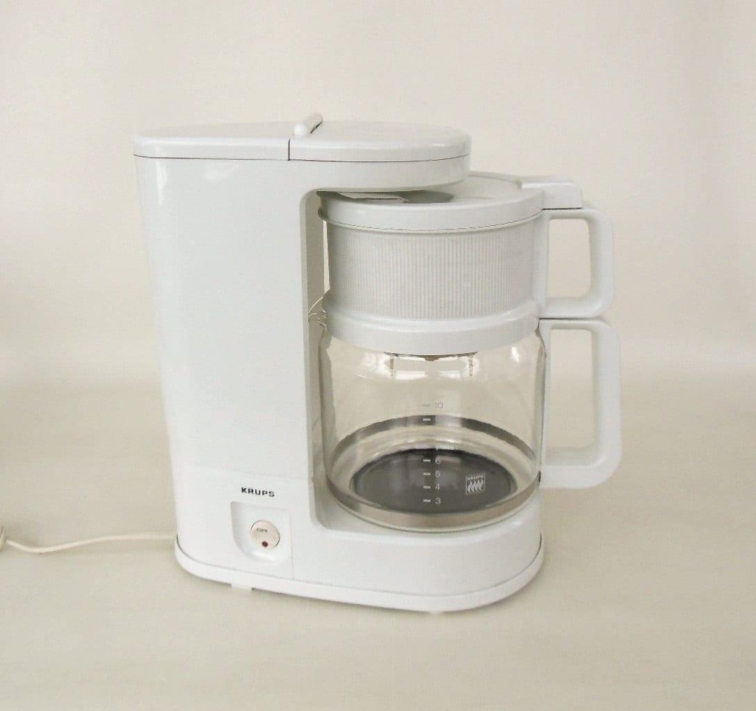 Krups Drip Coffee Maker : Krups Coffee Maker Model 150 10 Cup White
