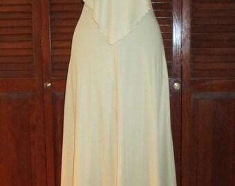 Vintage Young Edwardian Boho Halter Dress