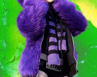 Solid Fur Hoodie