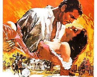 Gone With The Wind - Home Theater Decor - Classic Movie ...