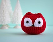 Fox Chuppy - Stuffed Animal - Crochet Amigurumi