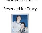 RESERVED FOR TRACY: Custom Crochet Portrait, Part 2