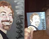 Custom Mini-Portrait (with mini easel)