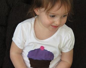 Cupcake Applique Shirt