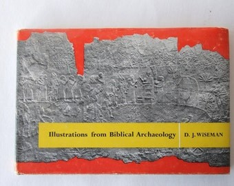 1966 book, Illustrations from Biblical Archaeology from Diz Has Neat Stuff