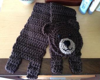 Soft bear scarf.
