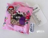 Seek & Find  I SPY toy game Pink Pirate Princess glitter print