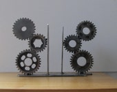 Motorcycle Gear Bookends Desk Accessory