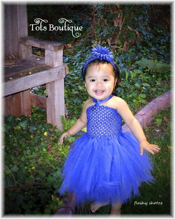 Baby Blue Tutu Dress Royal Blue Tutu Dress Baby