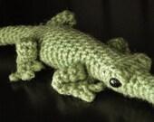 PATTERN: Crochet Amagurumi Alligator
