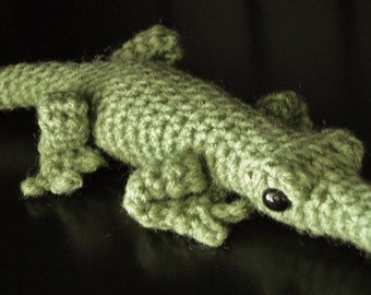 PATTERN: Crochet Amagurumi Alligator
