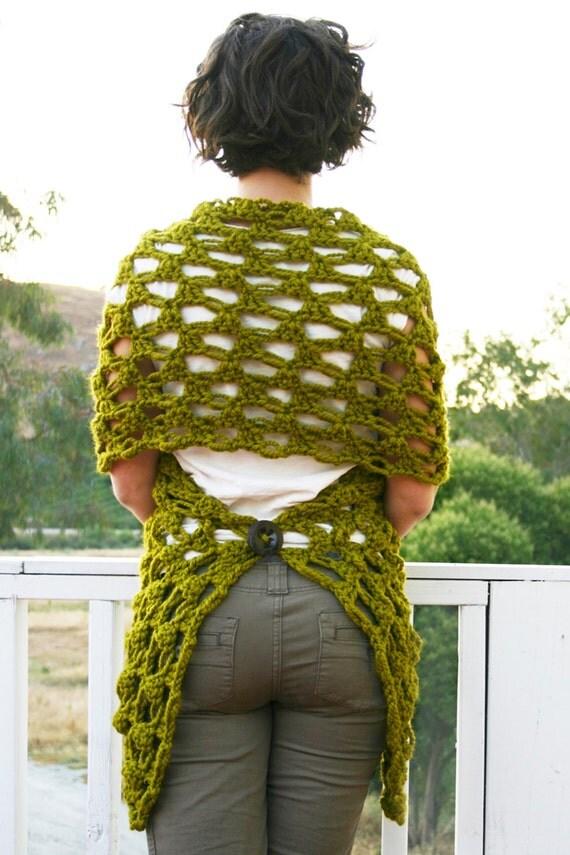 Crochet Pattern - The Any Way Wrap pattern