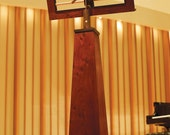 Custom Jatoba and Rosewood Music Stand