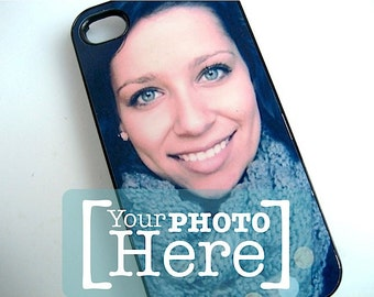 Personalized Phone Case - Photo Cell Phone Cover- Your Favorite Photo -Custom iPhone Case - iphone4 - iphone 5 - iphone 6 -Samsung S4 and S5