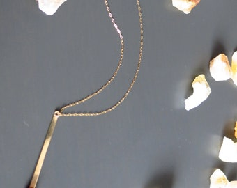 14kt gold match necklace