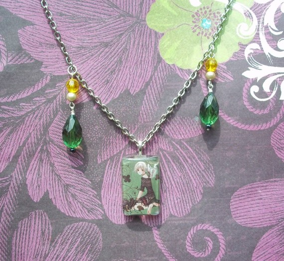 Awesome Clover Manga/anime Jewelry Necklace